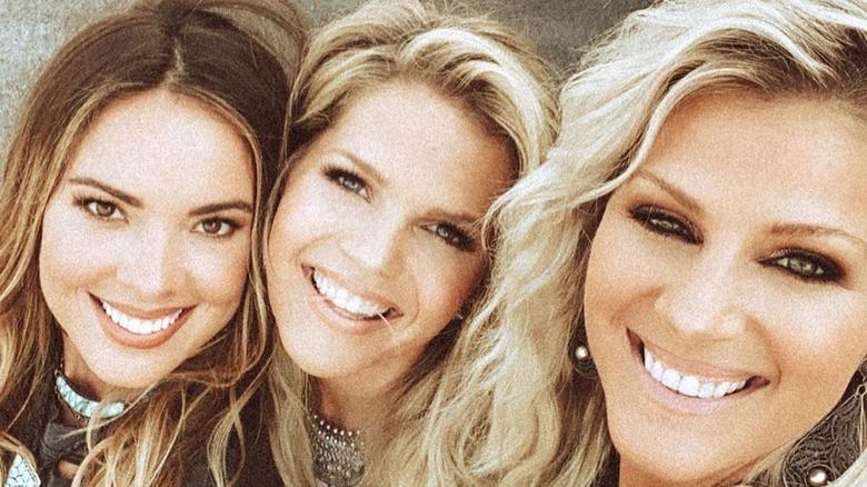 Runaway June vocalists Naomi Cooke, Jennifer Wayne, and Natalie Stovall in a selfie on Instagram
