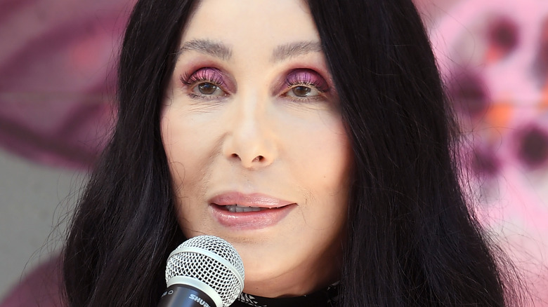 Cher campaigning for Biden Harris in Las Vegas