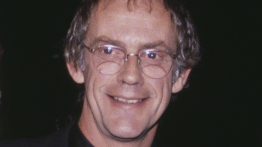 Christopher Lloyd on the red carpet