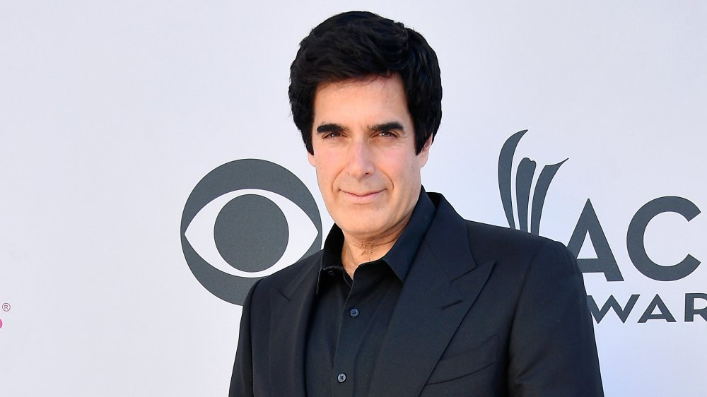 David Copperfield at 52nd Academy of Country Music Awards