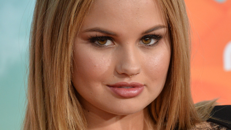 Debby Ryan with nose ring
