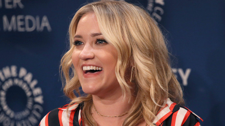 Emily Osment laughing