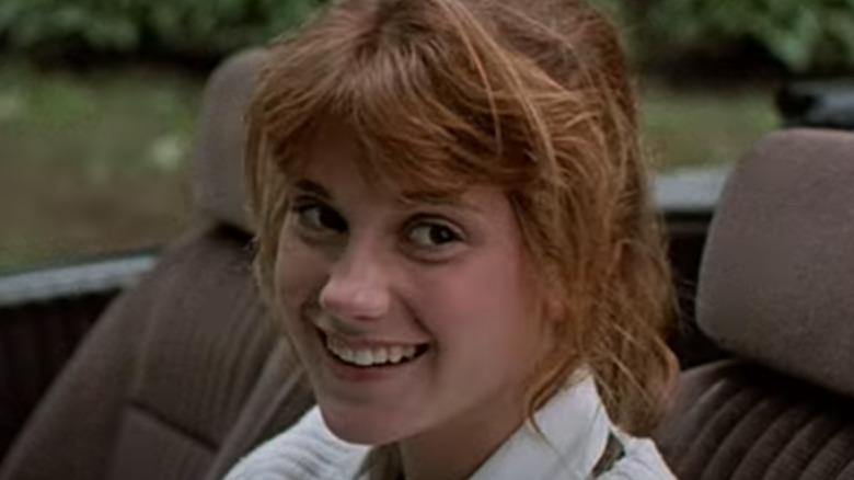 Kerri Green smiling in the movie Lucas