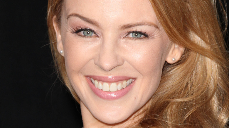 Kylie Minogue smiling