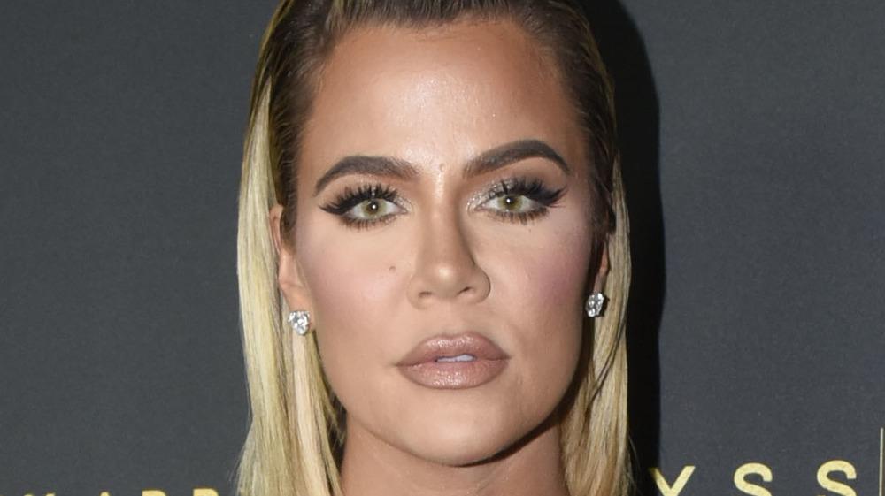 Khloe Kardashian on the red carpet