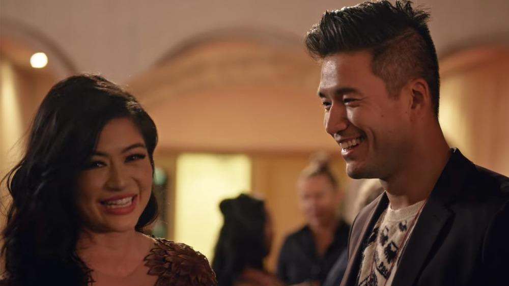 Kevin Kreider and Kim Lee smiling on 'Bling Empire