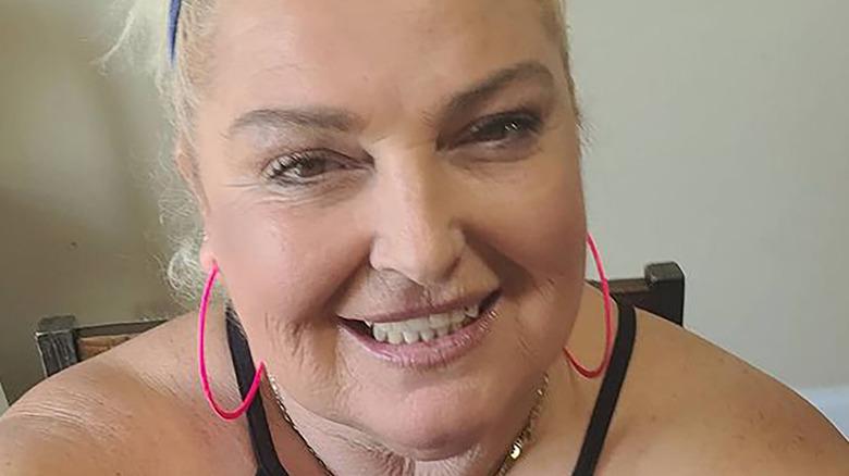 Angela Deem of 90 Day Fiance smiling