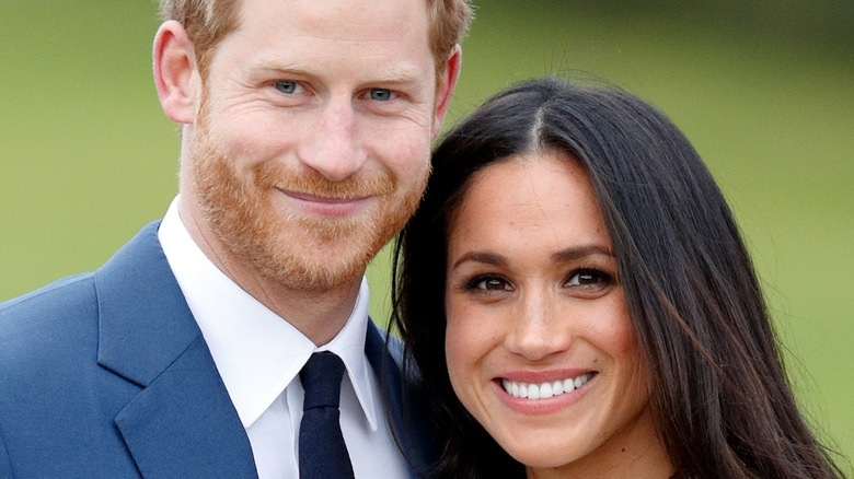Prince Harry and Meghan Markle engagement photo 2018