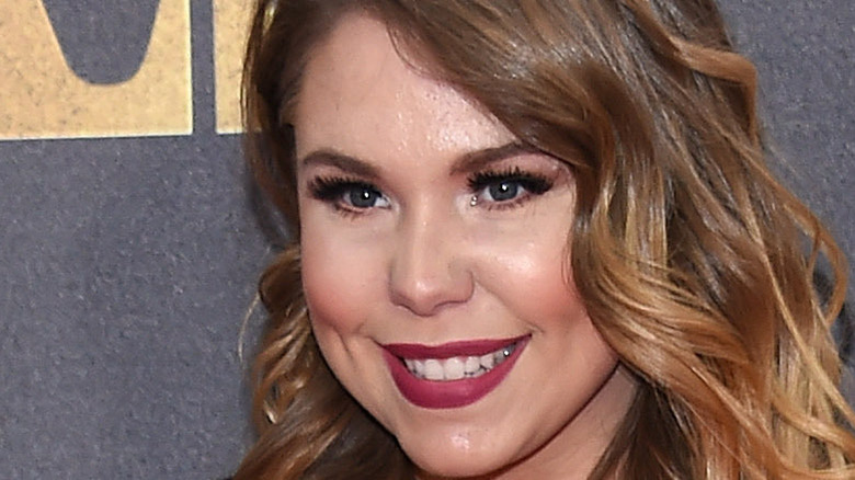 Kailyn Lowry on a red carpet