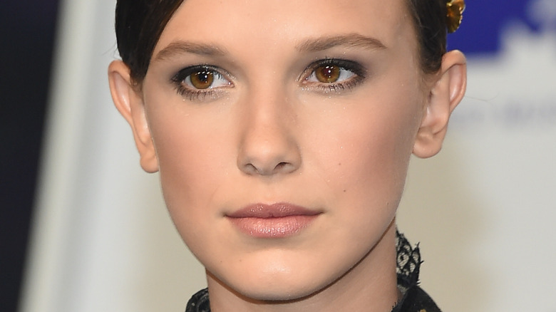 Millie Bobby Brown at event