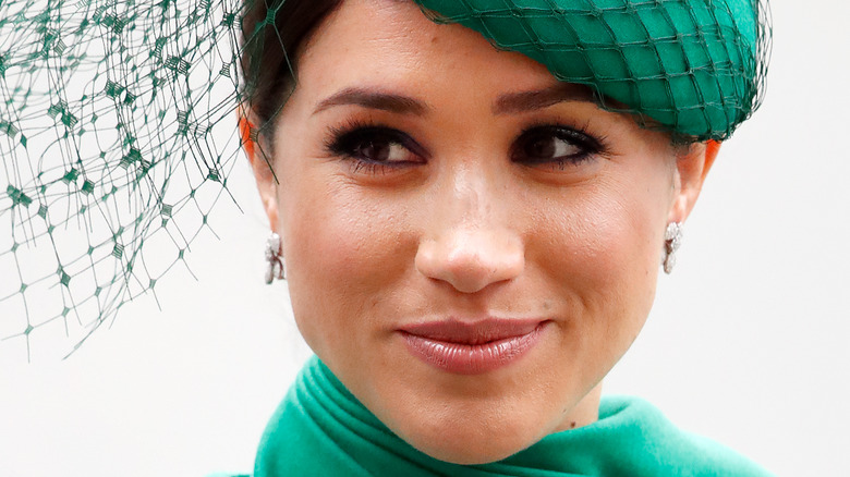 Meghan Markle green hat