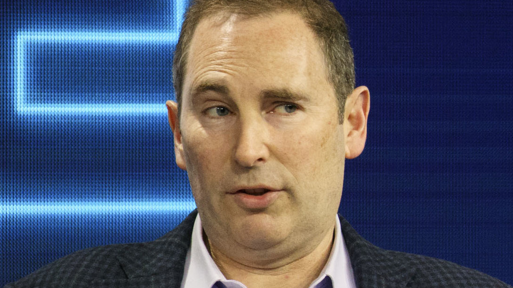 Andy Jassy speaking to an audience