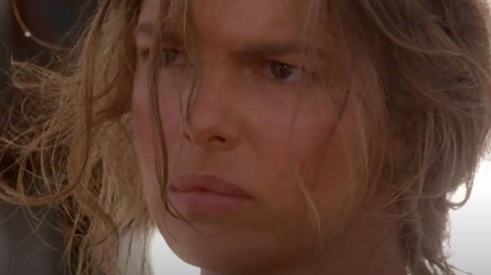 Jeanne Tripplehorn as Helen in Waterworld