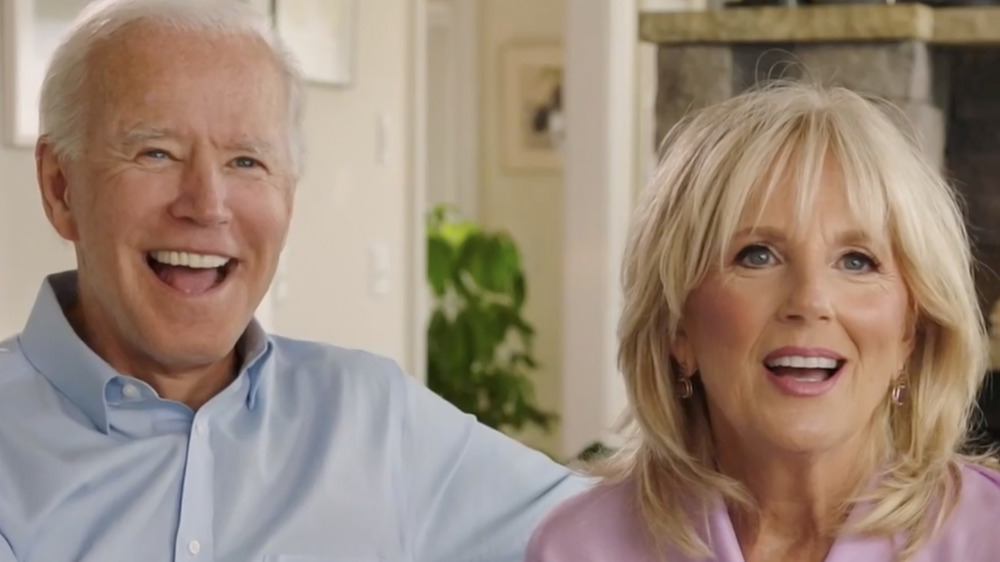 Joe and Jill Biden smiling