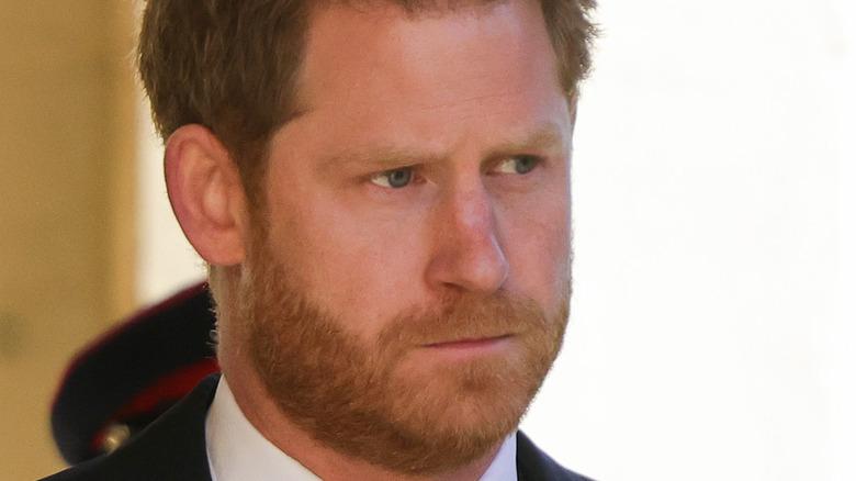 Prince Harry beard