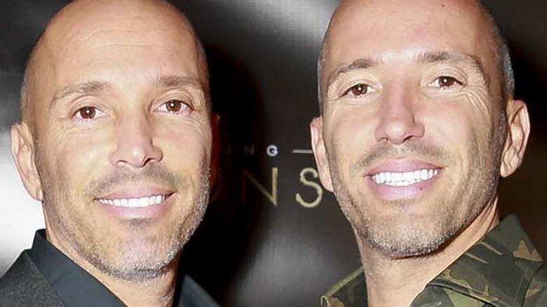 Jason Oppenheim and Brett Oppenheim smiling