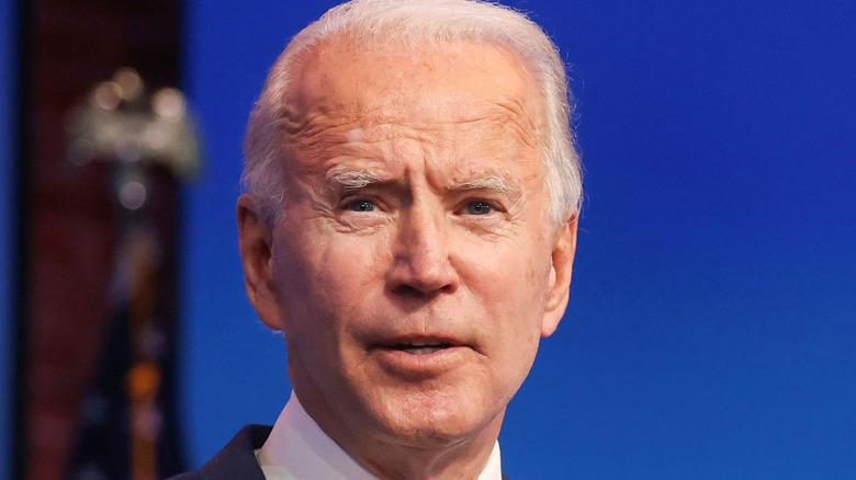 Current President Joe Biden discussing ACA in 2020