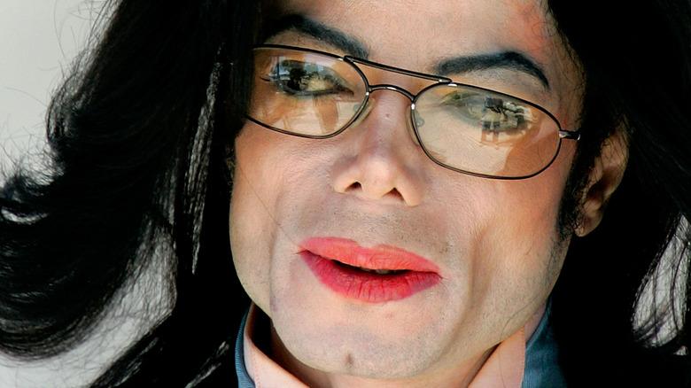 Michael Jackson up close