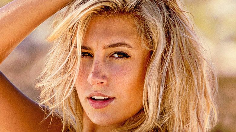 Carly Lawrence sun blond hair