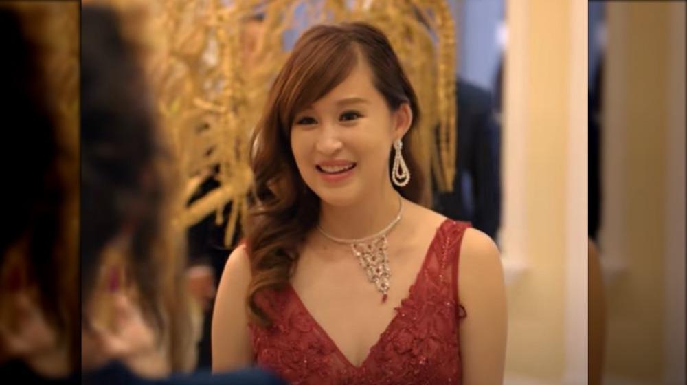 Cherie Chan smiling on Bling Empire