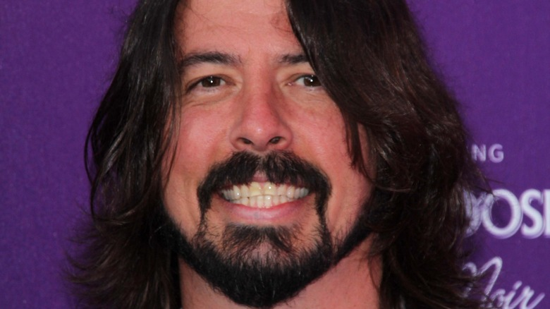 Dave Grohl on a red carpet