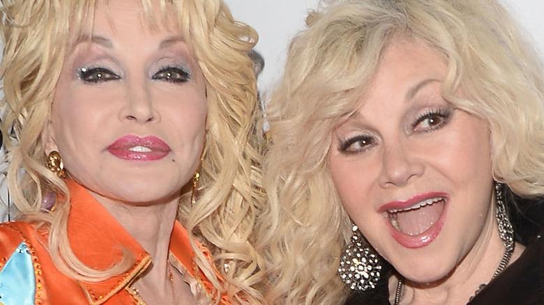 Dolly Parton and sister Stella Mae