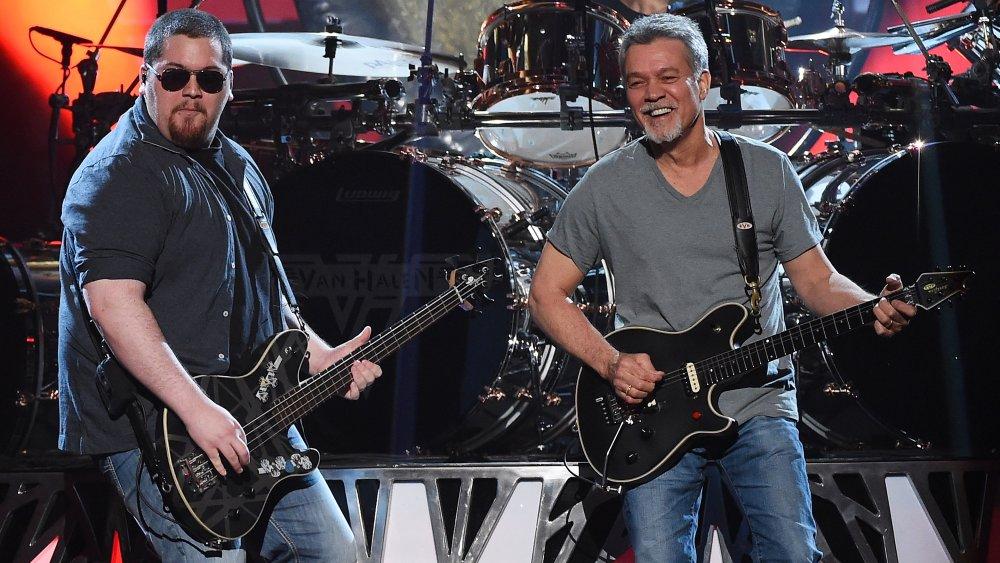 Wolfgang Van Halen, Eddie Van Halen