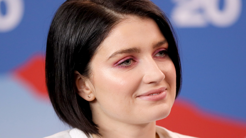 Eve Hewson smiles during an interview