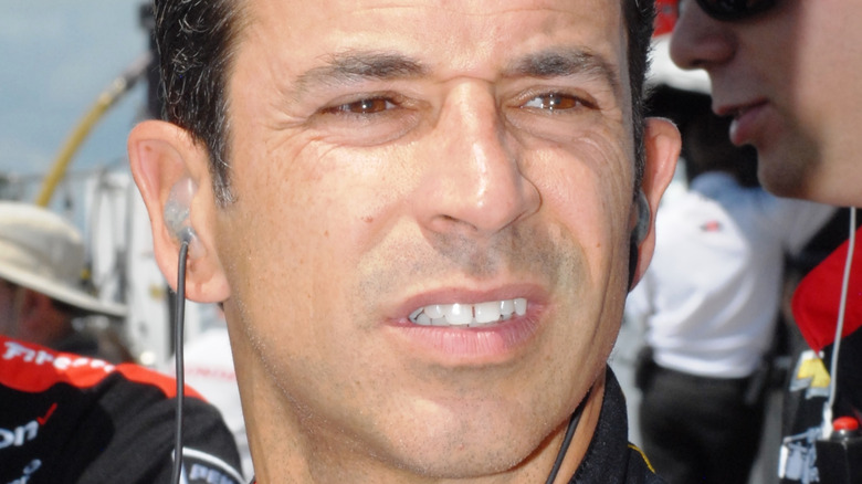 NASCAR driver Helio Castroneves