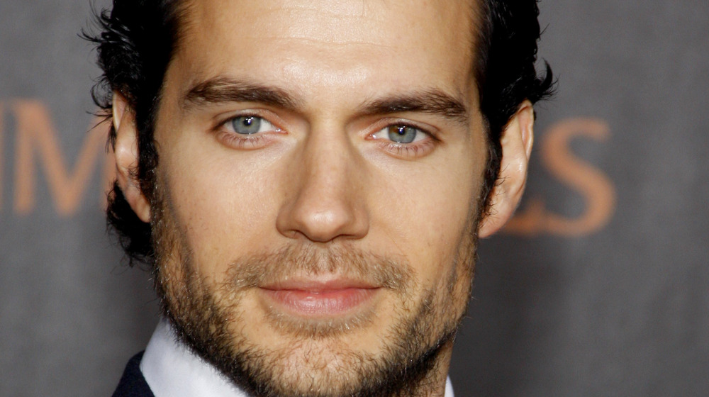 Henry Cavill at an event