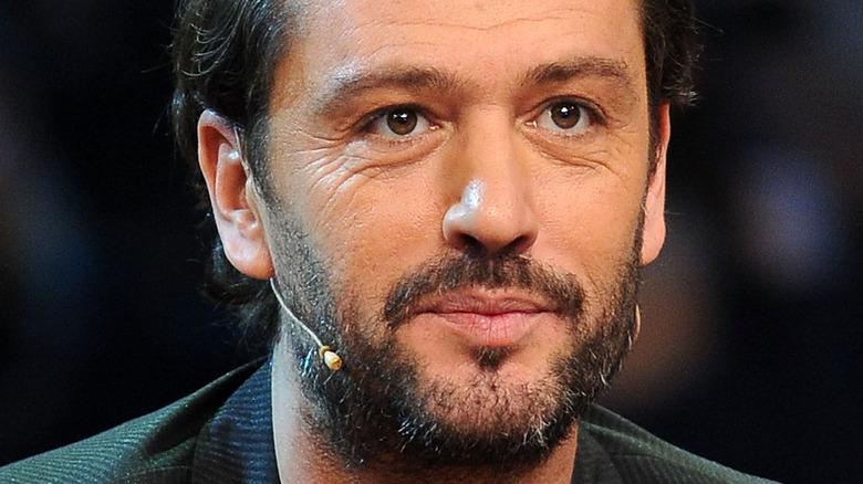 Rossano Rubicondi,  2012 photo, wearing a microphone