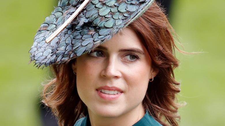 Princess Eugenie attending a royal event