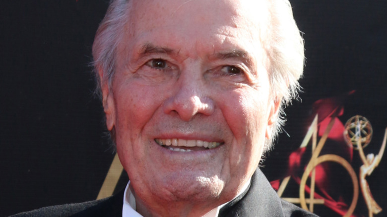 Jacques Pepin on a red carpet