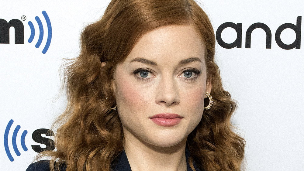 Jane Levy on red carpet