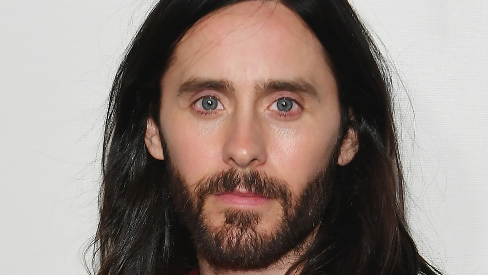 Jared Leto stares off into the distance