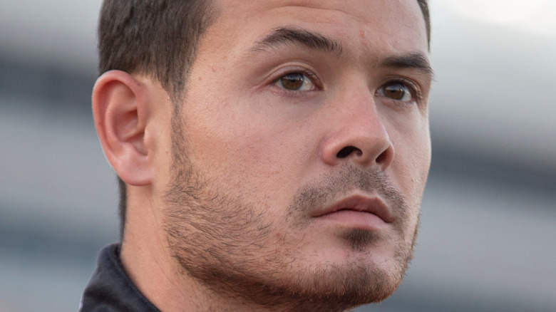 Kyle Larson at racing event