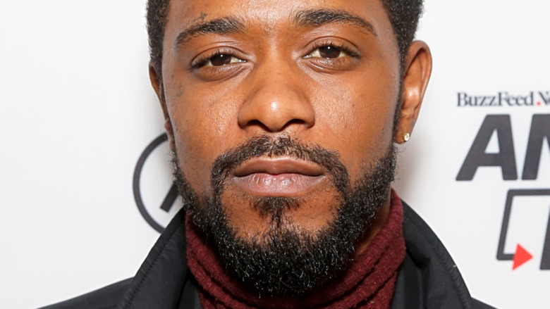 LaKeith Stanfield staring