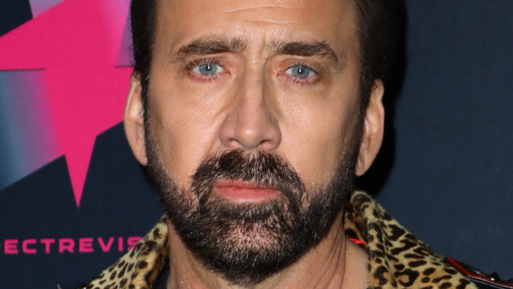 Nicolas Cage at an event
