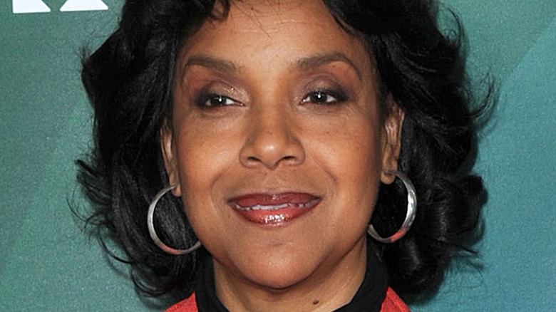 Phylicia Rashad on the red carpet