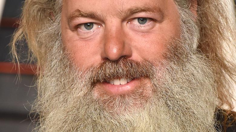 Rick Rubin smiling on the red carpet