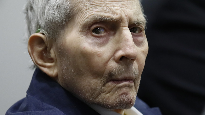 Robert Durst in a courtroom
