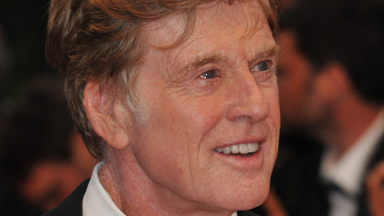 Robert Redford on the Cannes film festival red carpet