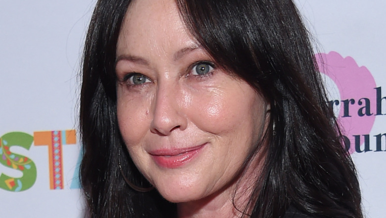 Shannen Doherty on the red carpet