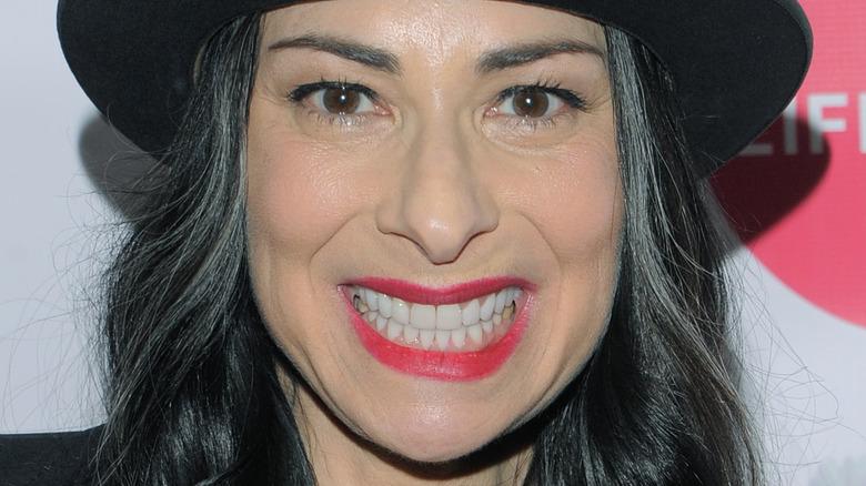 Stacy London smiles
