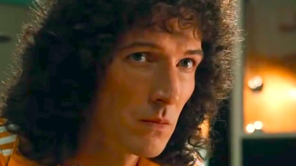 Gwilym Lee as Brian May in Bohemian Rhapsody
