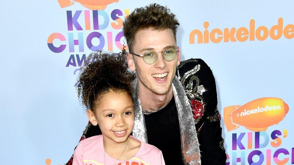 Machine Gun Kelly and daughter Casie
