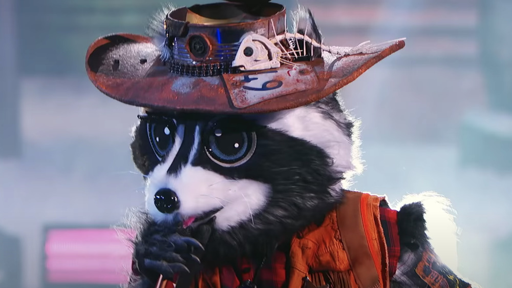 The Raccoon performs on The Masked Singer