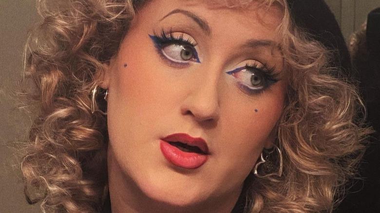 Brittany Broski wearing makeup