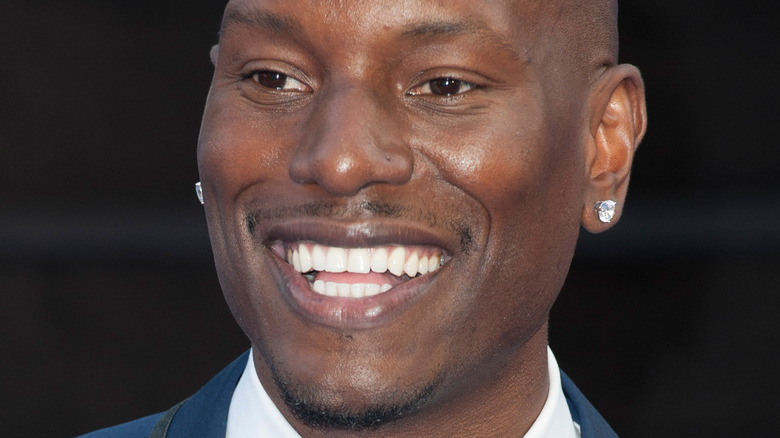 Tyrese Gibson smiling