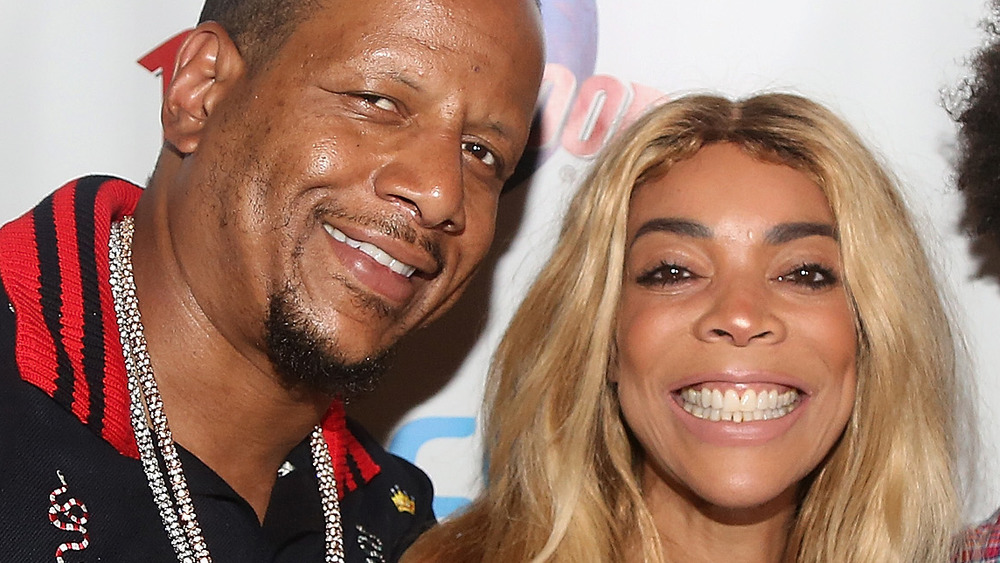 Kevin Hunter and Wendy Williams at an event
